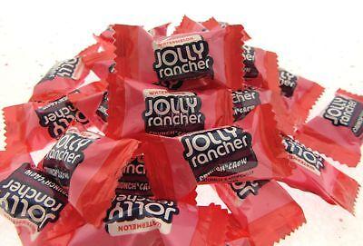 Jolly Rancher Wassermelone ~ 237ml Crunch n Chew Candy und 1/2 Halb Pfund