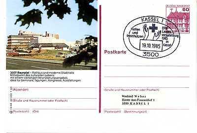 Bild GA Ganzsache Bund P 138 o Baunatal Kassel DRK G055