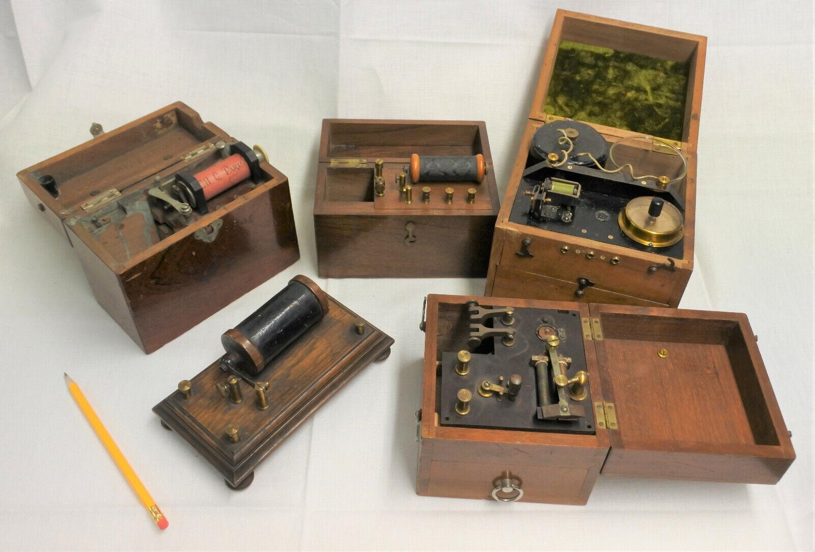 Alte Messgeräte von ca. 1910-20 elkt-Medizin