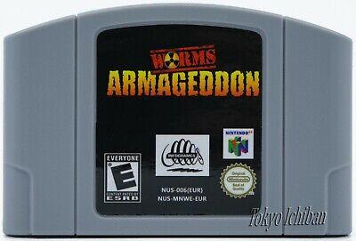Nintendo 64 - Worms Armageddon N64 - Pal EUR / Reproduction