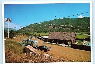 Durango Colorado United Campground Animas River Valley Vintage 4x6 Postcard (Animas Valley)