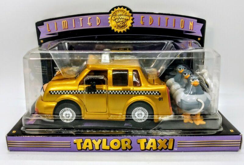 Chevron Cars Limited Edition Taylor Taxi Gold Chevron Car 2001