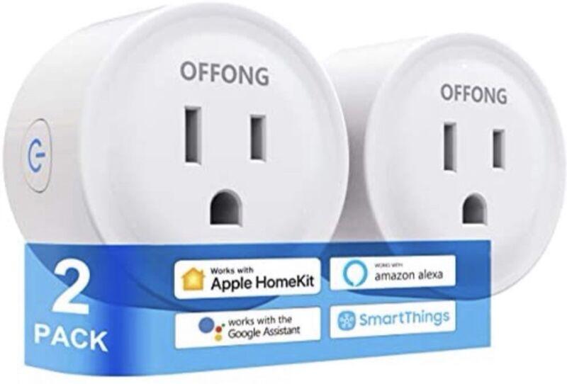 Smart WiFi Plug/Outet Apple HomeKit/Amazon Alexa/Google Assistant/TuyaSmart L@@K