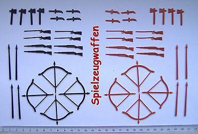Waffenset (48 teilig) für DDR Indianer und Cowboys +++ SEHR GESUCHT!