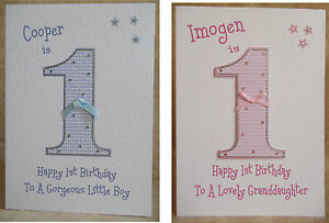 Handmade-Personalised-1st-Birthday-Card-2nd-3rd-4th-5th-6th-Other-Boy-or-Girl