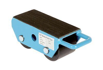 Vestil Fms-2.5 Fixed Machinery Skate With 2 Nylon Roller Steel 8-14 Rubbe...