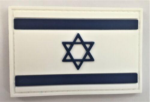 Israel 1948 Flag PVC Patch (Zion Hebrew 6 Point David Jerusalem Passover) 799