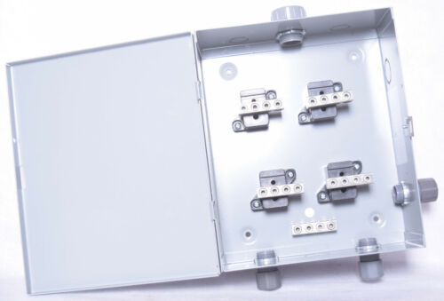 """Hammond CSB74 Electrical Enclosures SplitterBox 70/70A 12x10x4"""" 4wire"""