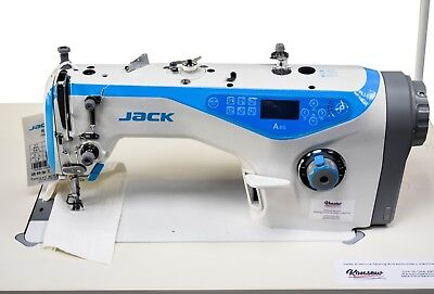 Jack A 4 Fully Automated Industrial Sewing Machine, Thread Trimmer (AFL)