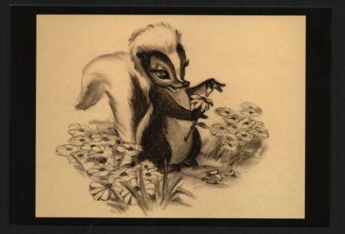 Disney Bambi Flower post card