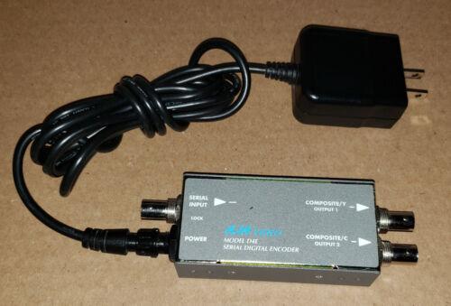 Aja Video Model D4E Serial Digital Encoder with Power Supply