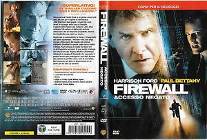 FIREWALL-ACCESSO-NEGATO-2006-dvd-ex-noleggio