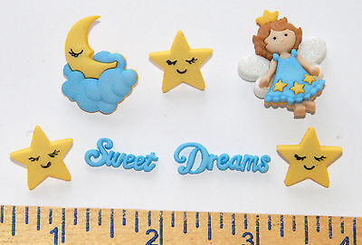Sweet Dreams w Stars & Moon / Sleep Fairy / Dress It Up Jesse James