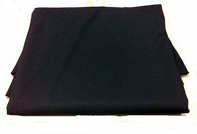 SPEAKER STEREO GRILL CLOTH FABRIC~BLACK SMALL PIECE 60