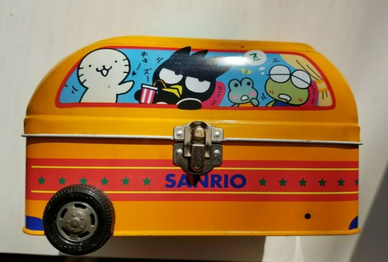 Sanrio Original 1996 Tin Bus (Lunch Pale)
