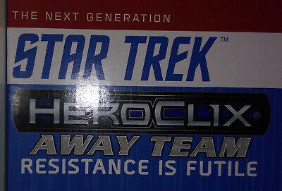 HEROCLIX TNG Denial IS FUTILE Borg Drone Hugh 002 A B LOT (Robot)