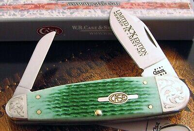 Case Sleeveboard Sunfish Knife 2001 Limited XX 9 Mint Set Sunfish 1 of 250! NR