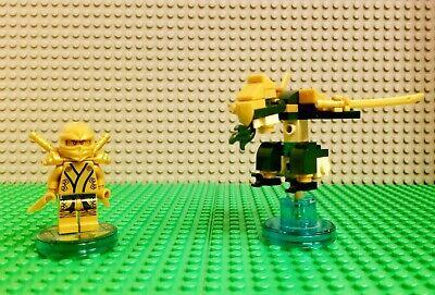 LEGO Dimensions Ninjago Lloyd Golden Ninja Fun Pack 71239 Lloyd Golden Dragon