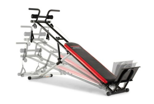 Weider Gym Exercise Body Works Bench Fitness Strength Machine w Workout Guide