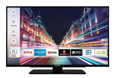 Techwood F39T52C 39 Zoll Fernseher Smart TV Full HD Triple Tuner WLAN Alexa CI+