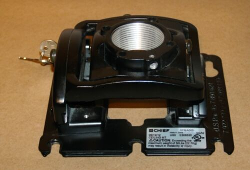 Chief RPMA000 Projector Ceiling Mount - With 2 Keys . In Good Condition
