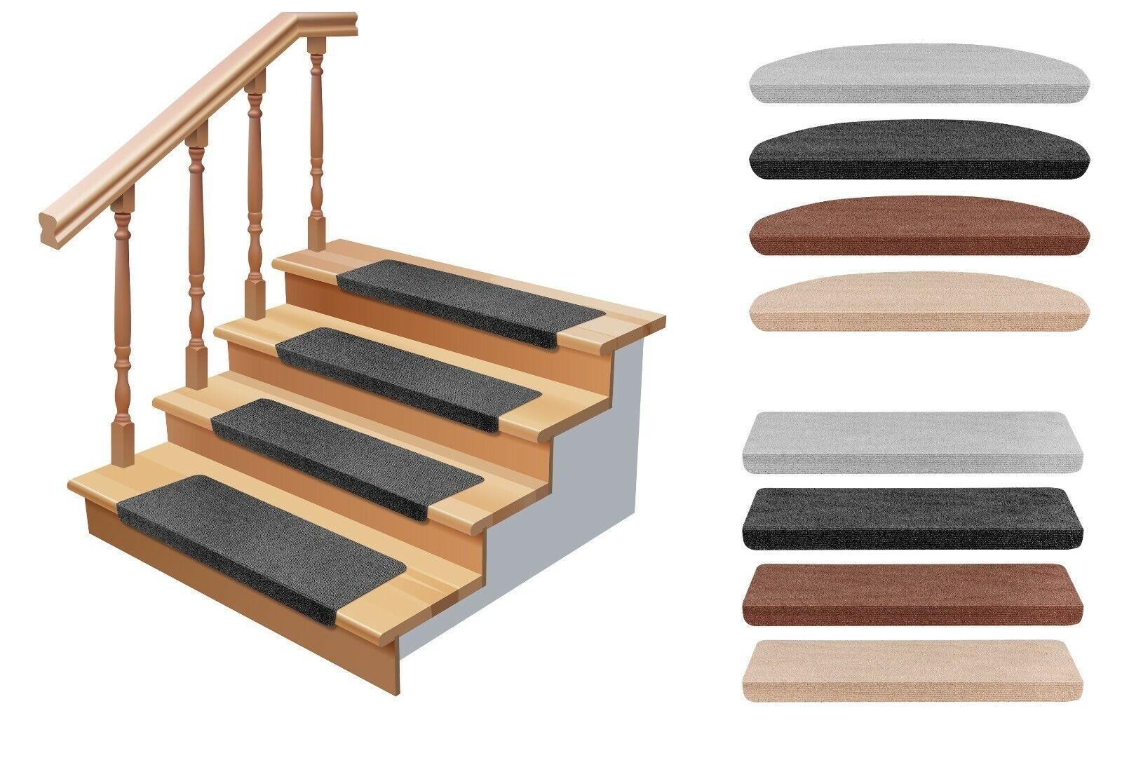 15er SET Stufenmatten Treppenschutz Treppenmatte Stufenmatte Treppenteppich