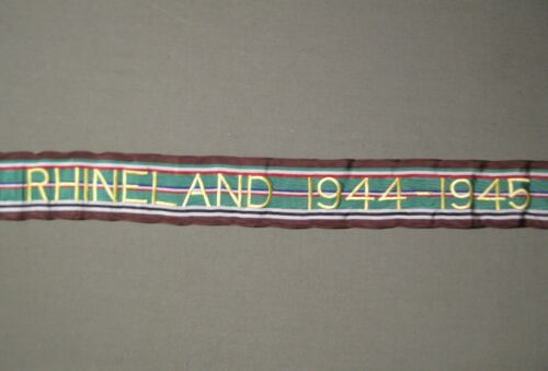 U.S. Army Battle/ Campaign Streamer- North Apennines- 1944-45.