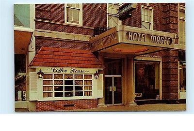 Hotel Magee Bloom Student Housing 20 West Main Street Bloomsburg Pa Postcard C63