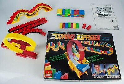 Goliath Domino Express Classic Set With Loop-the-Loop Complete + Spares Boxed for sale  Shipping to Ireland