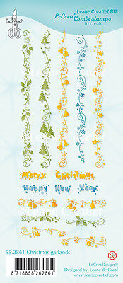 l Klar Cling Stempel Weihnachten Girlanden - 55.2861 (Weihnachten-girlanden)