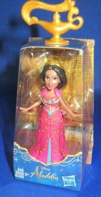 Disney Prinzessin Sammler Mini Puppenfigur Jasmine Aladdin Live Film, Rosa Neu (Neue Disney Prinzessin Filme)