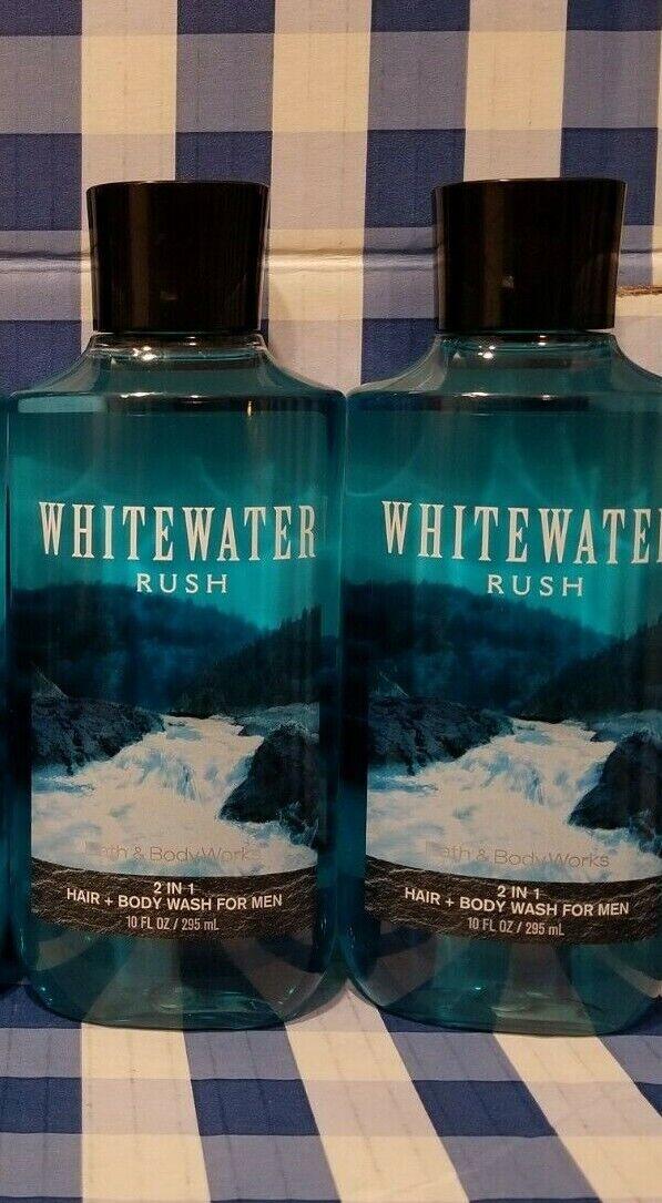 WHITEWATER RUSH Shower Gel Body Wash 10oz X2 Bath Body Works - $22.99