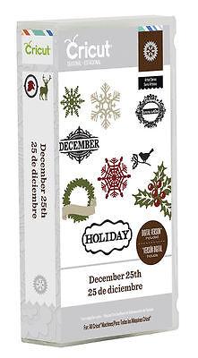 *New* DECEMBER 25TH Holiday Snowflake Cricut Cartridge Factory Sealed Free Ship