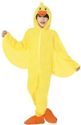 Mädchen Jungen Ente Entlein Tier Büchertag Charakter Kostüm Kleid - Entlein Kostüm