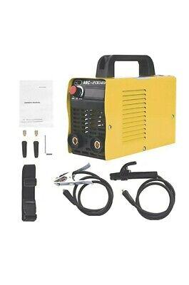 Welding Machine 110v Plug 200 Amp Power Igbt Acdc Beginner Welder With...