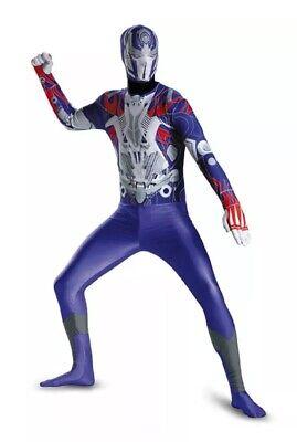 OPTIMUS PRIME 2XL 50-52 XXL Bodysuit Adult Men Skinovations Transformers Costume (Optimus Prime Adult Costume)
