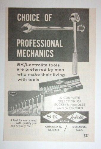 1961 SK Lectrolite Tools Advertisement