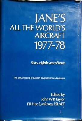 Jane's All The World's Aircraft 1977-78 edited by John W. R. Taylor
