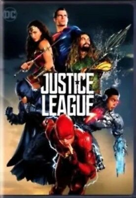New  Justice League  Dvd  2017  Action Pre Order Ships On 03 13 18