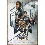 BLACK PANTHER MOVIE POSTER DS ORIGINAL INTL FINAL Ver B 27x40 CHADWICK BOSEMAN