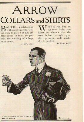 "20/""x12/"" Art Print Leyendecker 1912 J.C Arrow Collars Fashion AD and Shirts"
