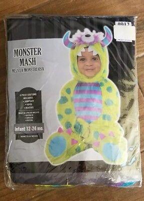 Monster Mash Costumes (Monster Mash Halloween Costume, 12 - 24)