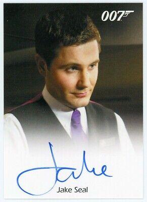 2016 James Bond Archives Spectre Edition Jake Seal Autograph LIMITED