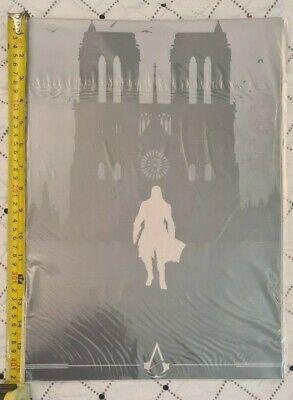 Assassin's Creed Unity Notre Dame Poster AC Arno Dorian Promo E3/EGX 2014
