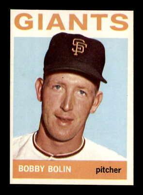 1964 Topps #374 Bobby Bolin  NM/NM+ X1864253