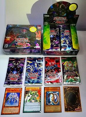 YU GI OH!216pcs Cards MIX Includes Uncommon Common RARES HOLOS Child Toy Gift