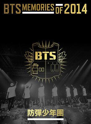 BTS - MEMORIES OF 2014 DVD 3DVD BRAND NEW SEALED
