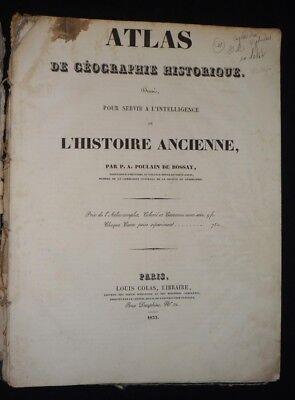 Atlas der géographie historique,aufgestellt für verwendet werden, um l' Verwendet Ebooks