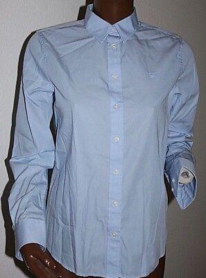 Neu orig super klassische Gant Bluse Damenbluse blau//weiß gestreift Gr.42