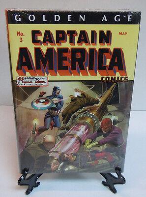 Golden Age Captain America Vol 1 Marvel Comics Omnibus Brand New Factory Sealed